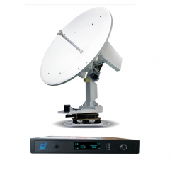 Ditel V121 120cm Ku band satellite internet sailboat communications