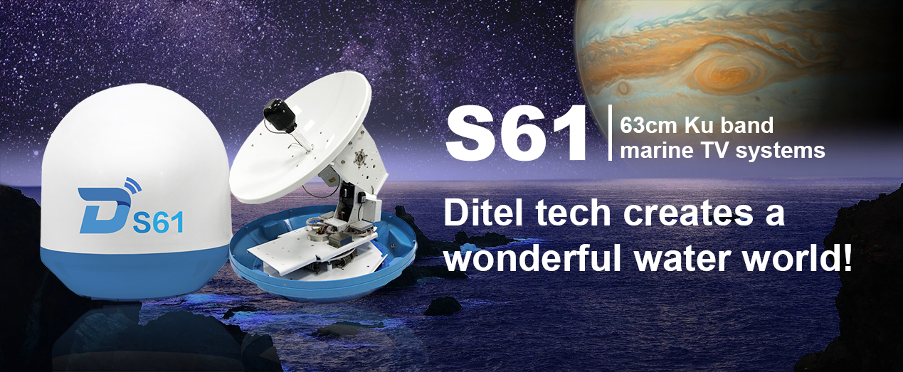 Marine Tv Systems 63Cm Ku Band-S61-Diteltech