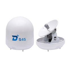 Ditel S45 45cm Ku band yacht satellite TV antenna